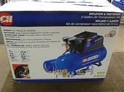 CAMPBELL HAUSFELD FP209402 3 GALLON 110 PSI AIR COMPRESSOR & 11 PC ACCESSORY SET